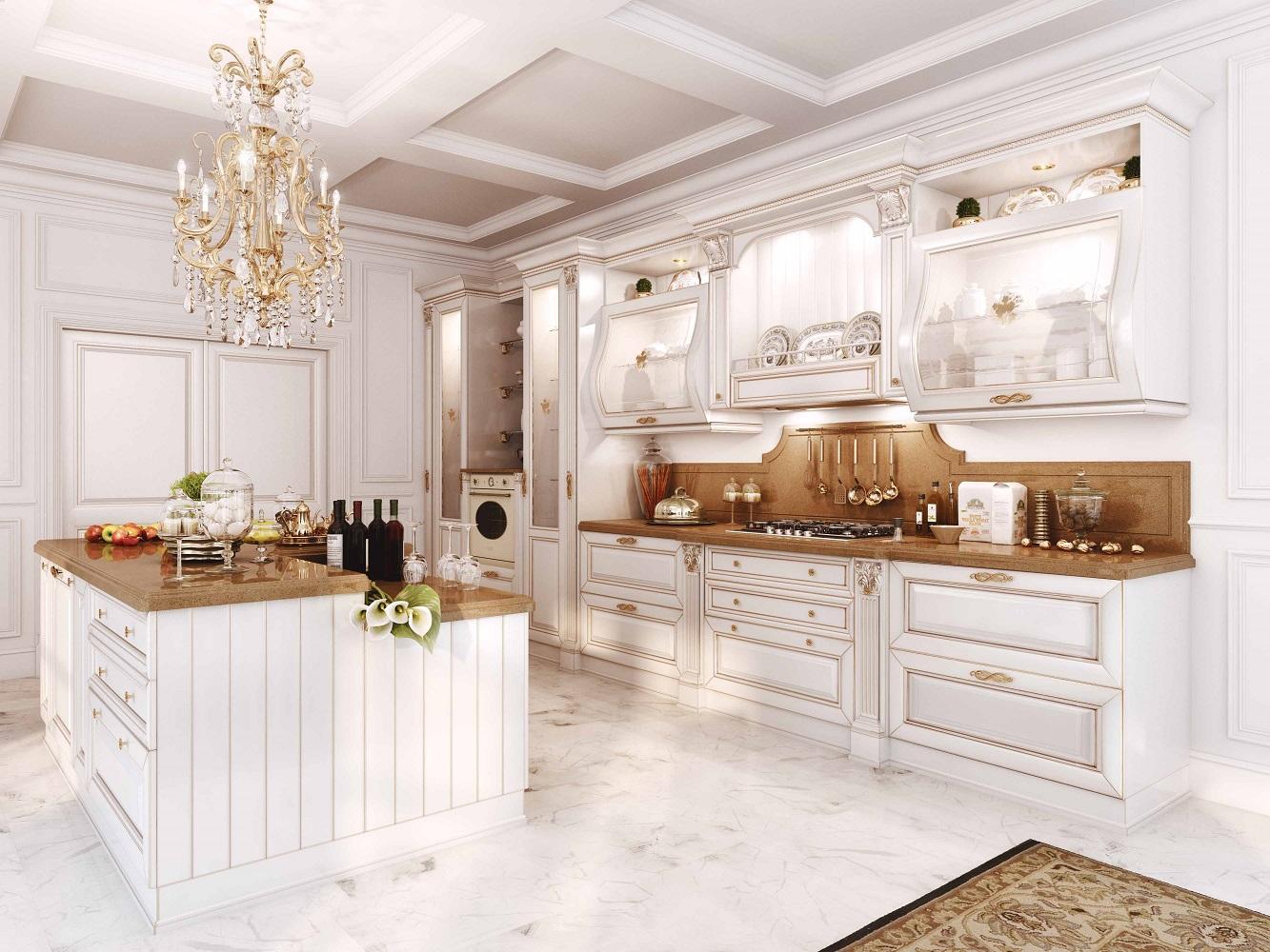 Итальянские кухни классика фото