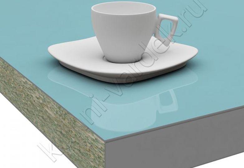 Столешницы Pro-deco - Небесно-голубой HPL кромка 3D-Acryl