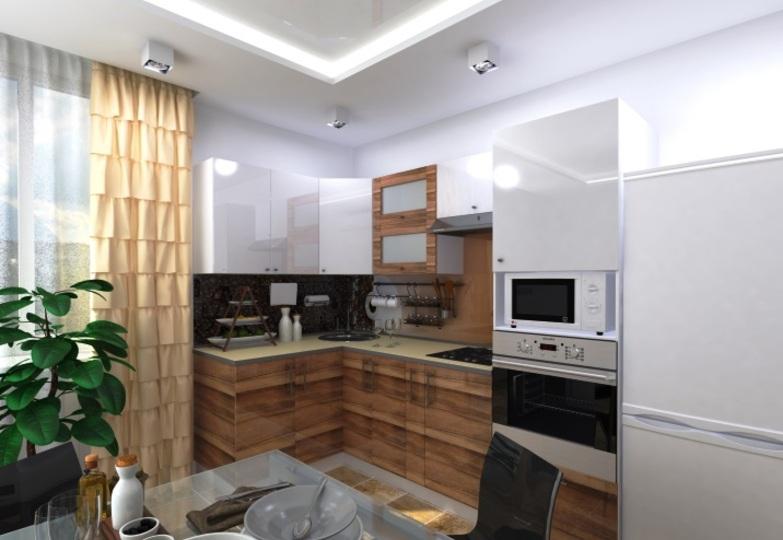 Кухня Фузз Рамочная