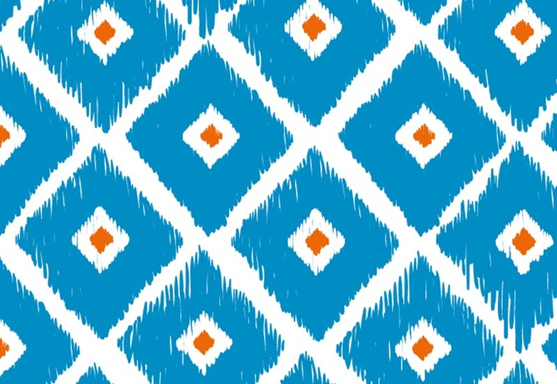 Стеновые панели Ламинат принт - 3080 Орнаментальные ромбы