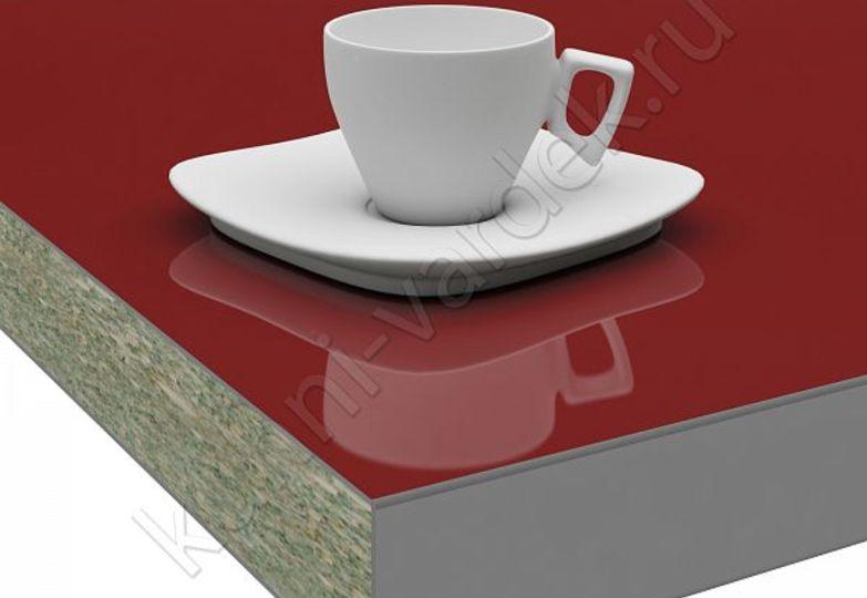 Столешницы Pro-deco - Темно-красный HPL кромка 3D-Acryl