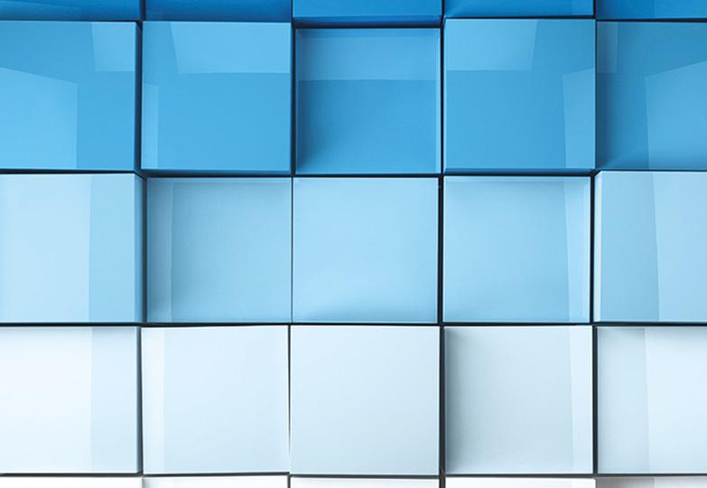 Стеновые панели Ламинат принт - 3078 Объемное море