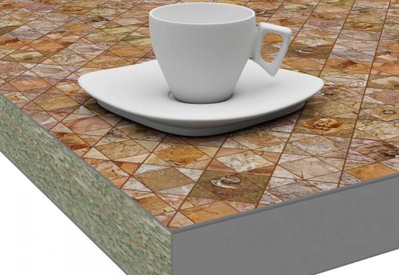 Столешницы искра - Фоссил кромка 3D- Acryl