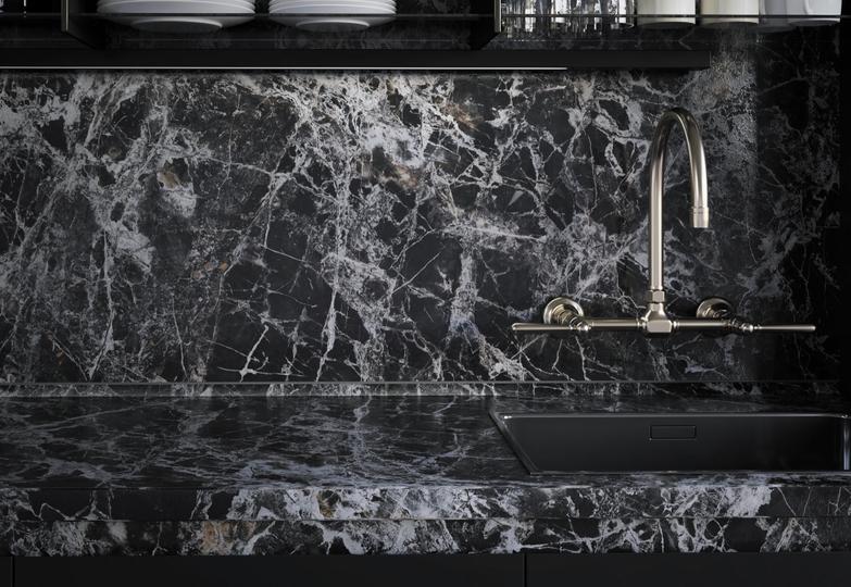 Столешницы линия Infinito Premium - 8053/R Mystic marble
