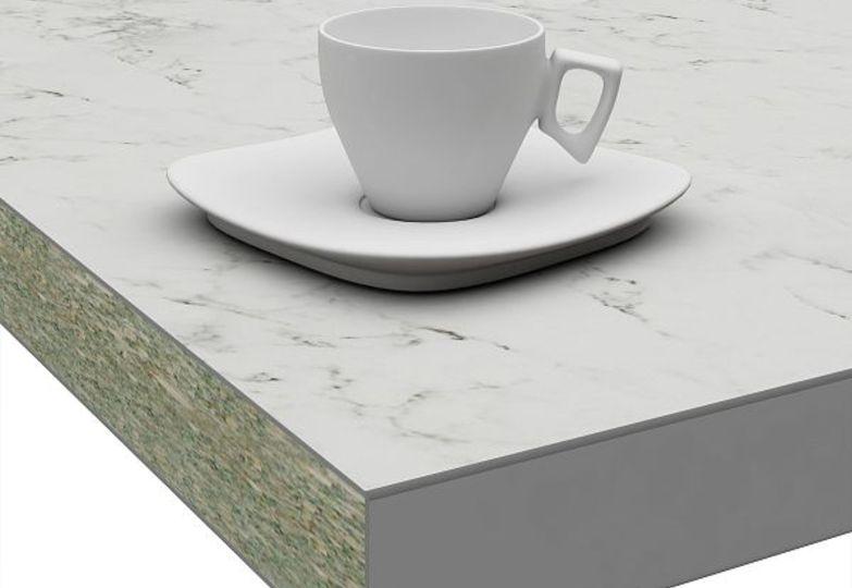 Столешницы Слюда - Миланский мрамор кромка 3D-Acryl