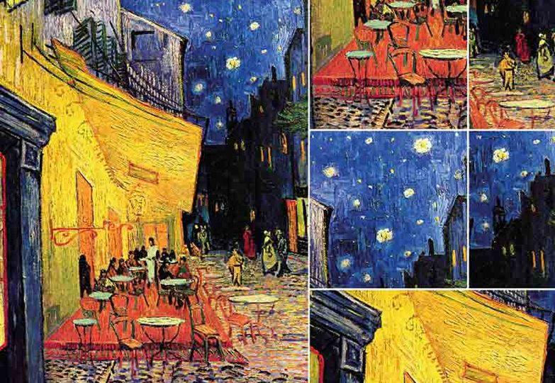 Стеновые панели Ламинат принт - 5032 Артпанно Ночное кафе