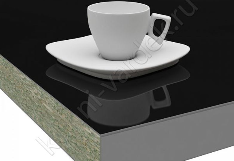 Столешницы Pro-deco - Черный HPL кромка 3D-Acryl