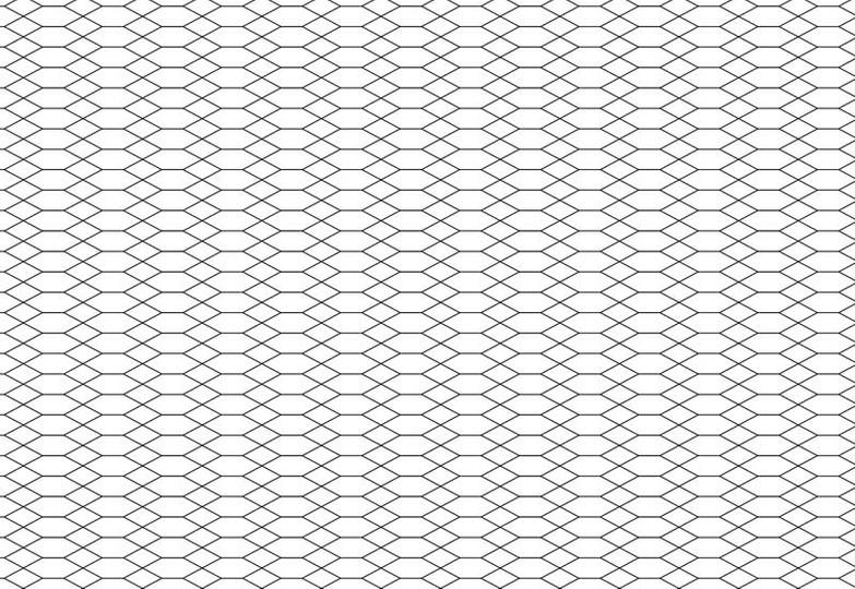 Стеновые панели Ламинат принт - 6074 Призма