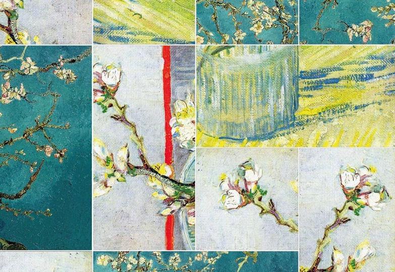 Стеновые панели Ламинат принт - 5033 Артпанно Миндальное дерево