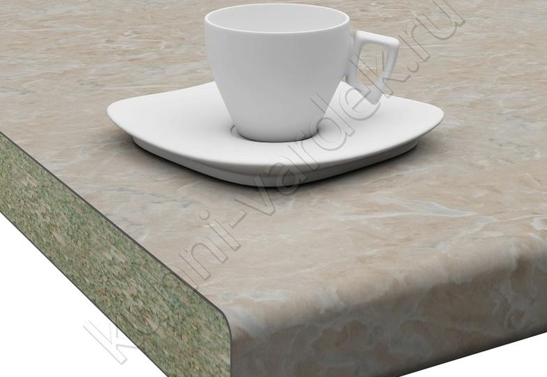Столешницы Кристалл Вардек - Оникс серый,  U завал: 40мм- 4698 руб., 26мм- 3202 руб.