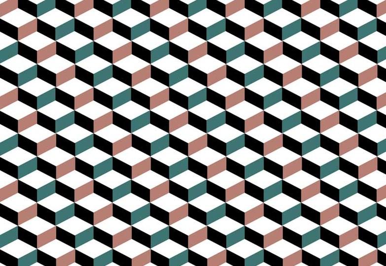 Стеновые панели Ламинат принт - 442 Ромбо