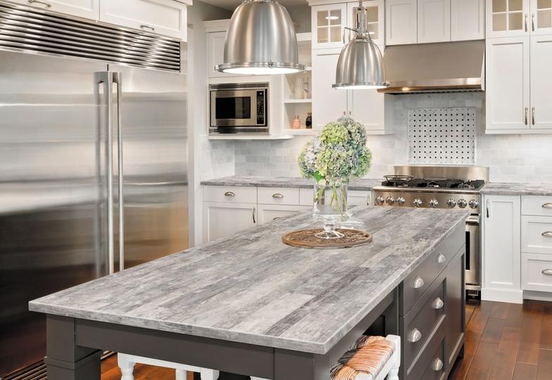 Столешницы линия Infinito Premium - 8071/Rw (Рустикальные поры) Grey rustic wood