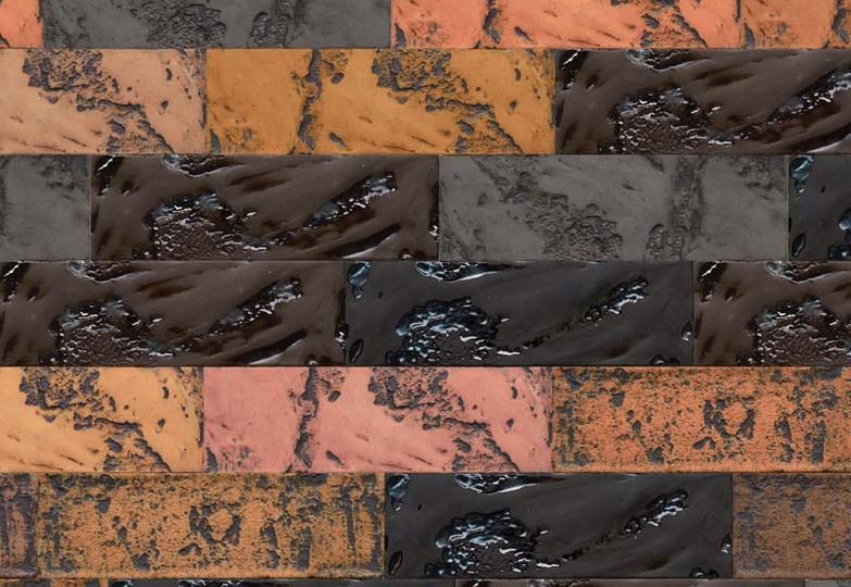 Стеновые панели Ламинат принт - 385 Лава колор