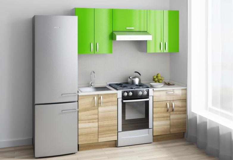 Кухня Вега - Индийское дерево + зеленый