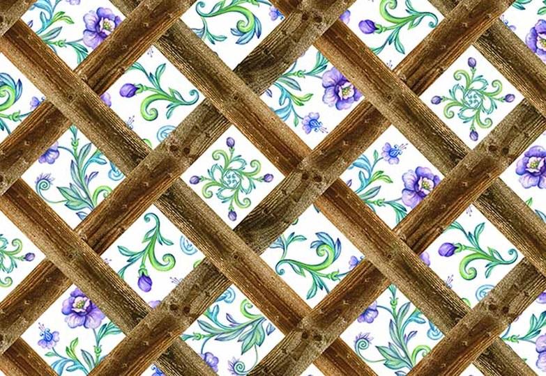 Стеновые панели Ламинат принт - 3056 Феникс