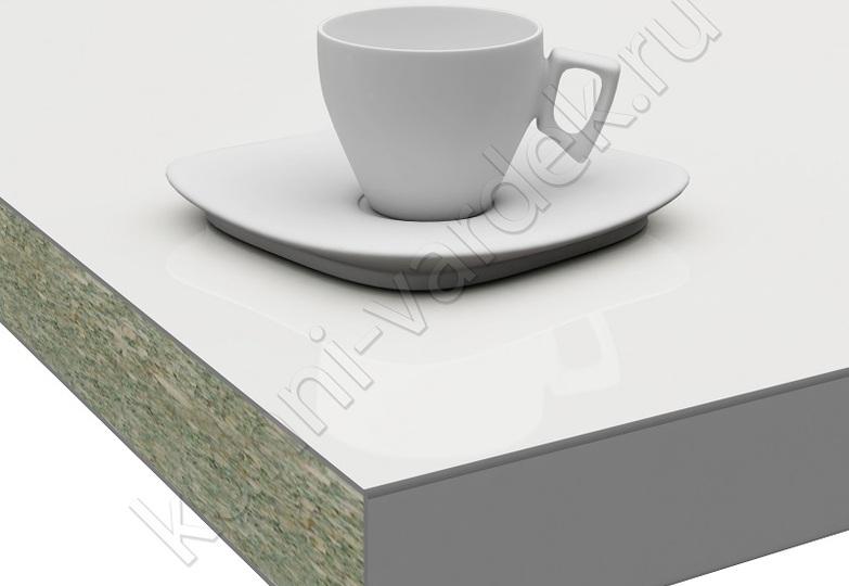 Столешницы Pro-deco - Белый HPL кромка 3D-Acryl