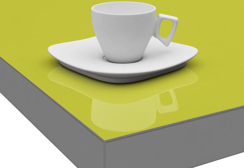 Столешницы Кристалл Вардек - Лимонный, Глянец, Кромка 3D-Acryl, 40 мм- 8021 руб.