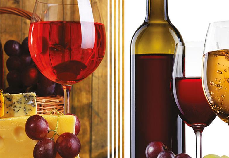 Стеновые панели Ламинат принт - 3064 Виноградня 2
