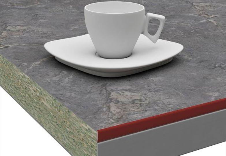 Столешницы Слюда - Везувий 3D-Acryl бордовый