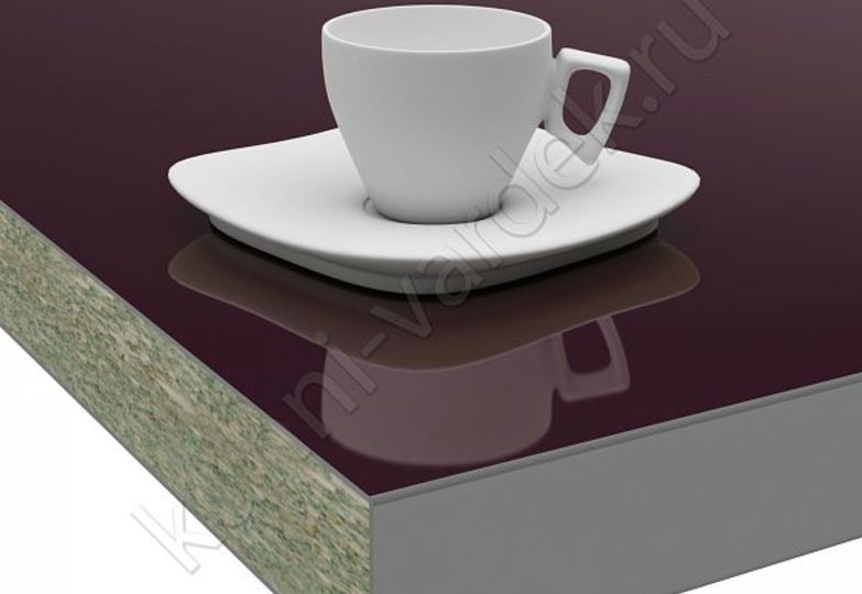 Столешницы Pro-deco - Баклажан HPL кромка 3D-Acryl
