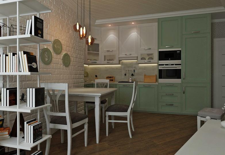 Кухня Манчестер Фистачио